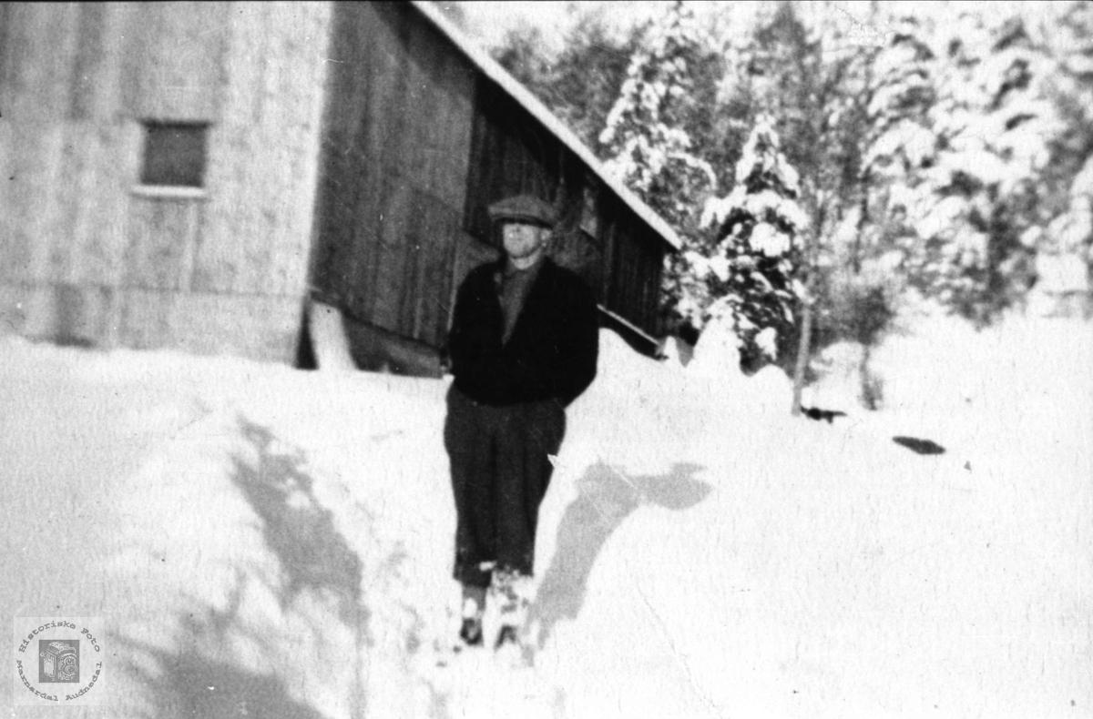 På ferie i Norge. Gunder G. Laudal, Kanada.