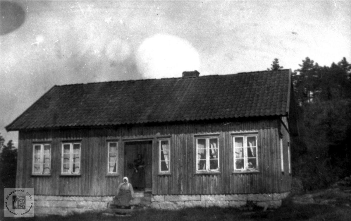Gårdshus på Kvasshammer, Øyslebø.