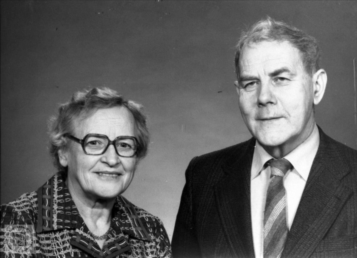 Ekteparet Tordis og Ånund Kleivane.
