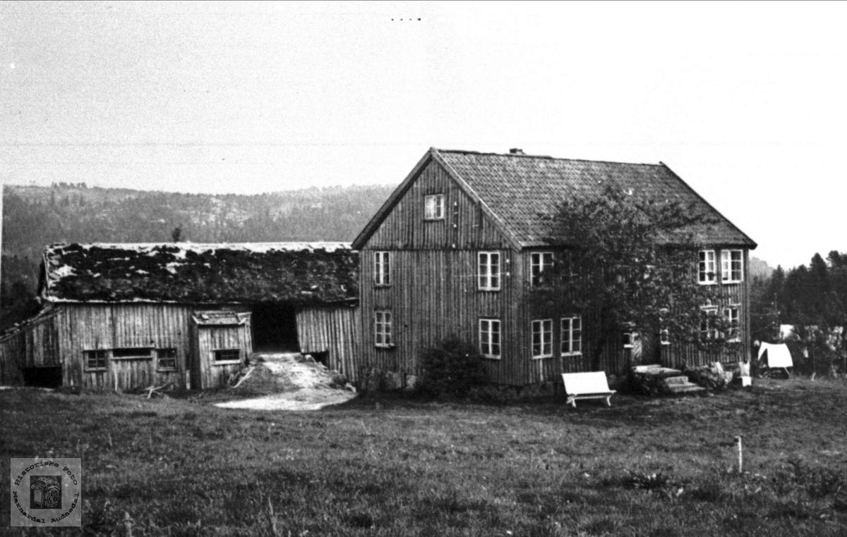 Gamle hus på Rydlende, Bjelland