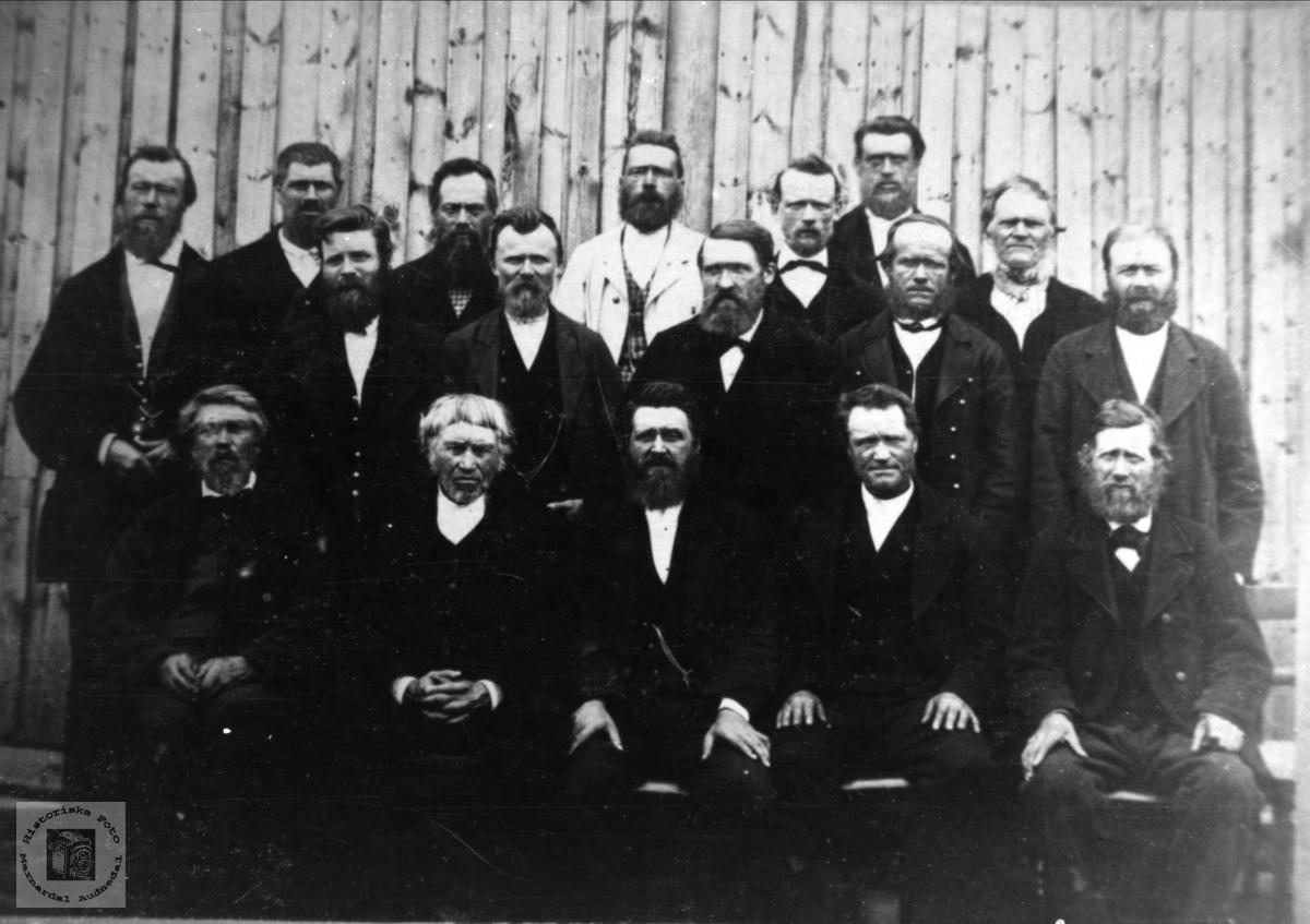 Øyslebø og Løvdal kommunestyre 1880