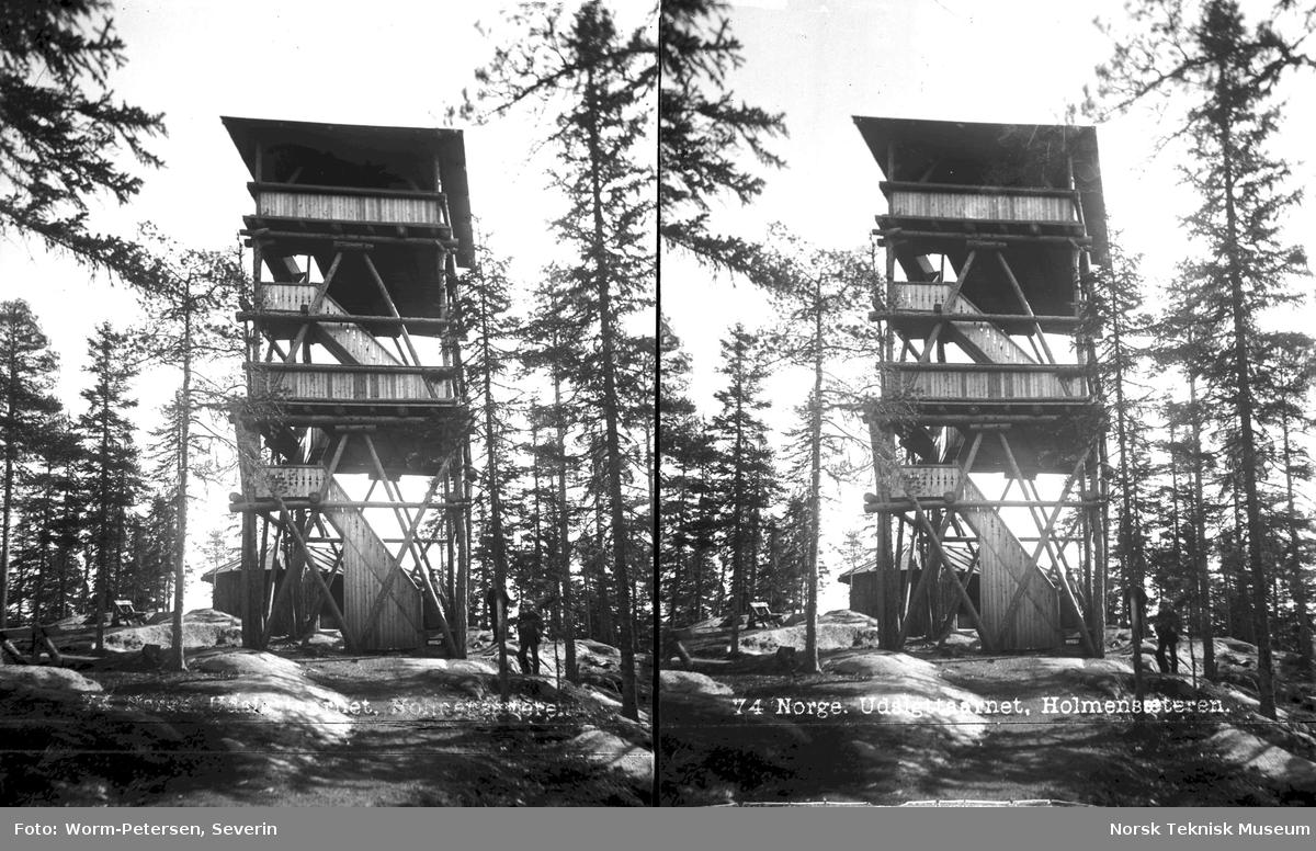 Utkikkstårn på Holmenkollen