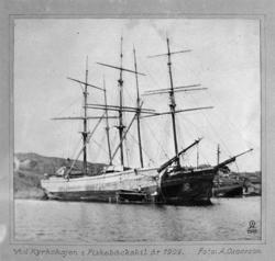 Vid Kyrkokajen i Fiskebäckskil år 1909
