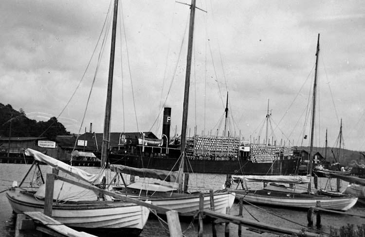 Last av silltunnor för Island 1936