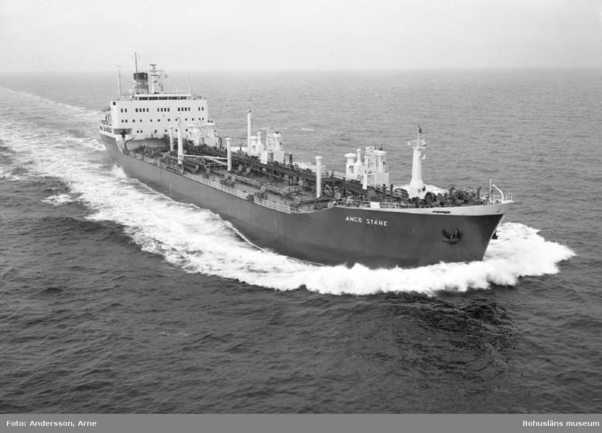M/T Anco Stane DWT. 23.840 Rederi Athel Line Ltd., London England Kölsträckning 71-09-10 Nr. 242 Leverans 72-04-15 Tankfartyg