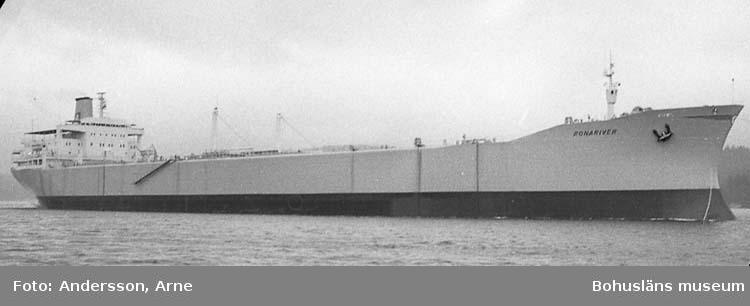 Provtur med fartyg 235 M/T Ronariver.