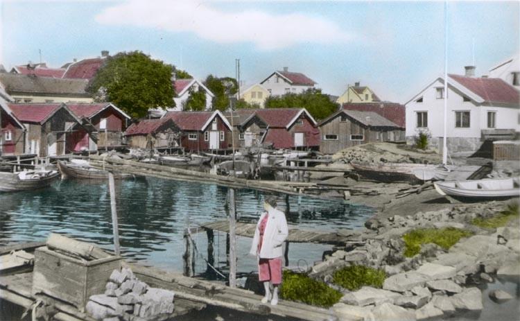 Kolorerat fotografi med motiv från Fisketången