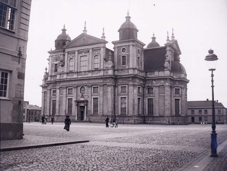 """Enligt text som medföljde bilden: """"Kalmar. Domkyrkan."""" ::"""