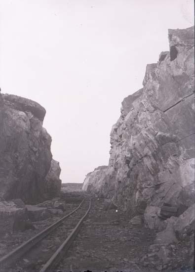 """Enligt text som medföljde bilden: """"Häggvall. Bergspass. 1/9 12."""" ::"""