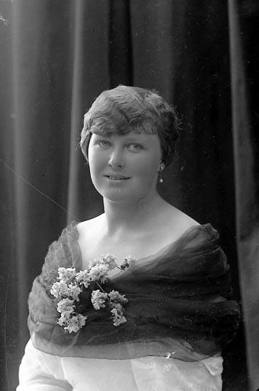 """Enligt fotografens journal nr 3 1916-1917: """"Adlerstråle, Fru Ön""""."""
