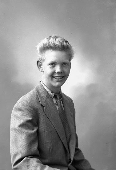 "Enligt fotografens journal nr 8 1951-1957: ""Sedig, Lars Erik, N. Doteröd, Stenungsund""."