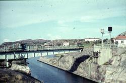 """""""Sotenkanalen. Bron öppnas för en segelbåt"""""""