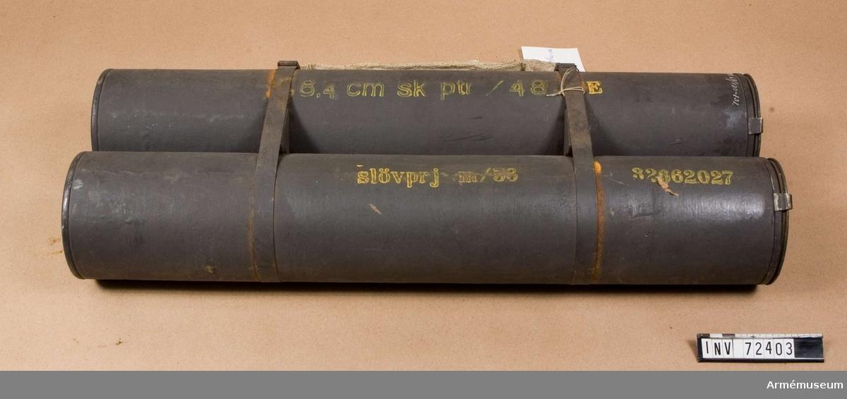 Grupp F II. Blind, till granatgevär m/1948.