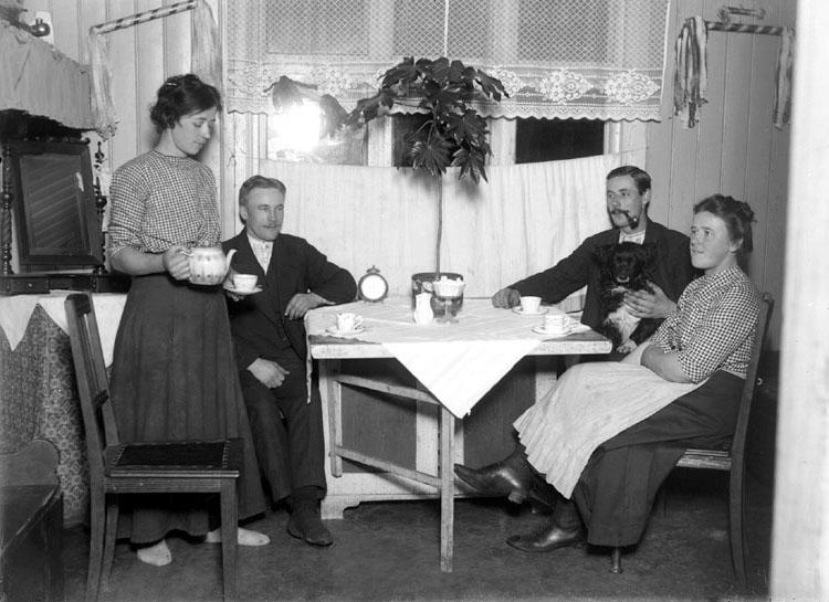 """""""Kaffedrickning"""" enligt notering"""