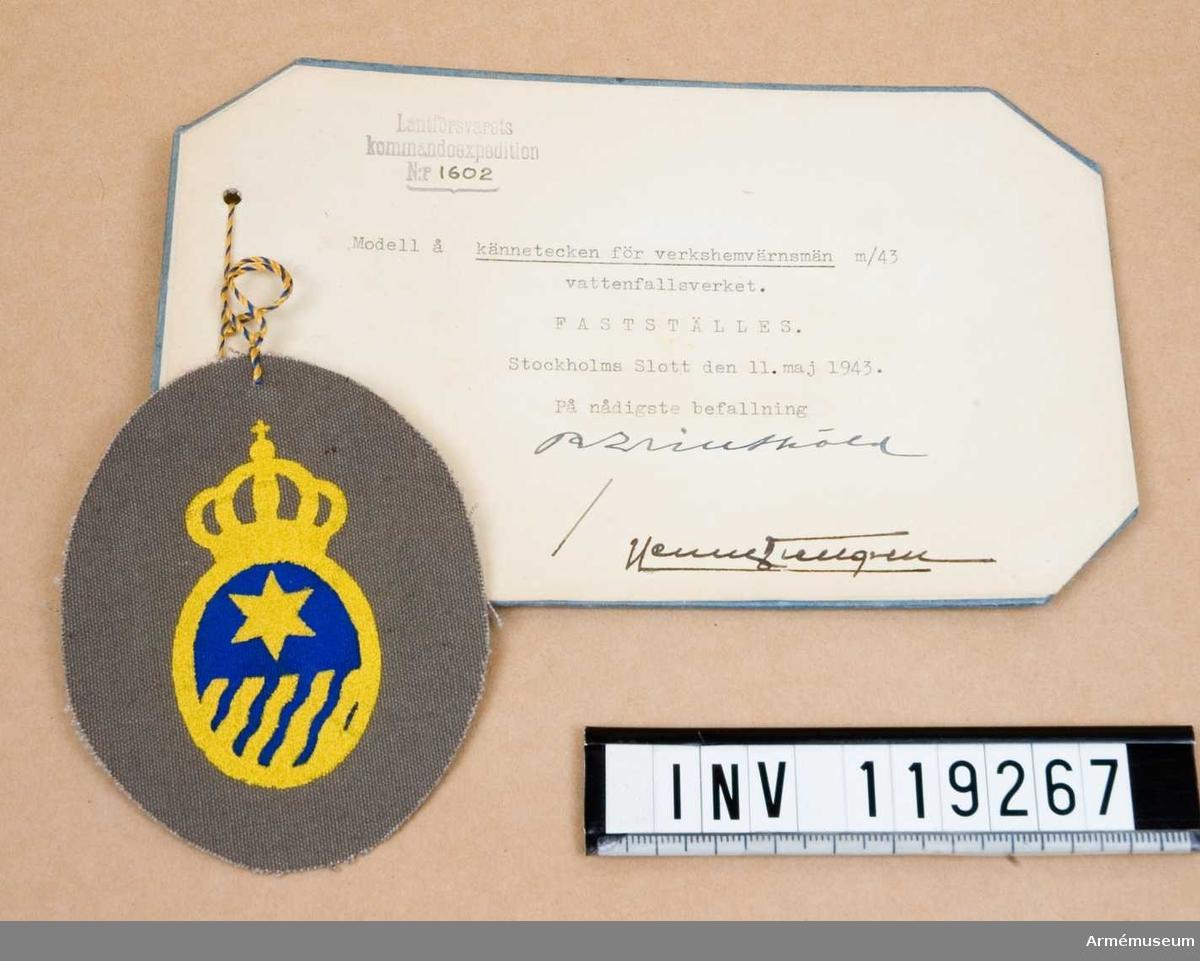 Tecken m/1943