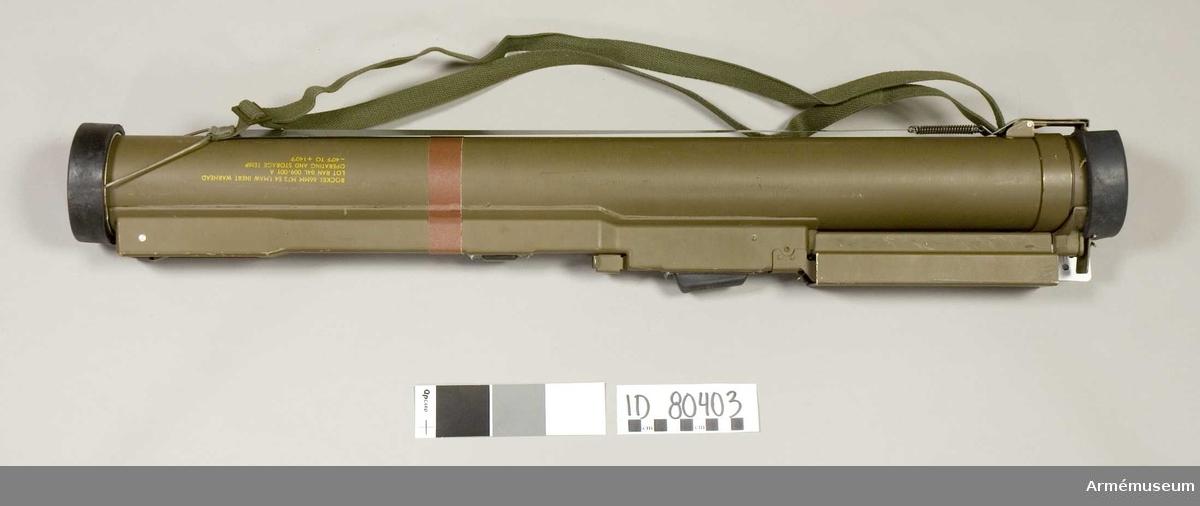 Ammunitionen anpassad för M72 LAW E4 klarar av att tränga igenom 355 mm pansarplåt och är alltså särskilt avsedd för kraftigt pansar. I vissa sammanhang även benämnd som M72 LAW A4, vilket avser samma vapen.
