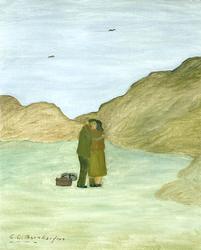 Islandsfiskarens avsked [Målning]