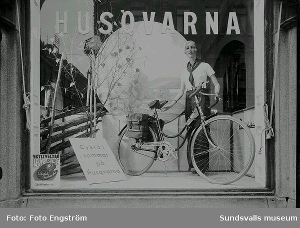 Huskvarna, Skyltveckan 1937.