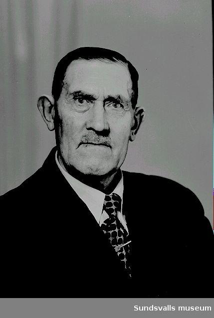 Mansporträtt, herr Söderblom