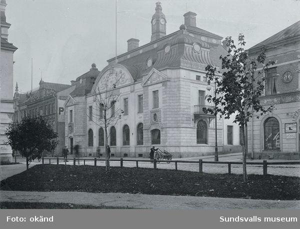 Riksbankens hus på Storgatan 29, byggt 1906-08.