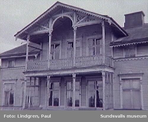 Nybrogatan 43. Bostadshus troligen uppfört 1889.