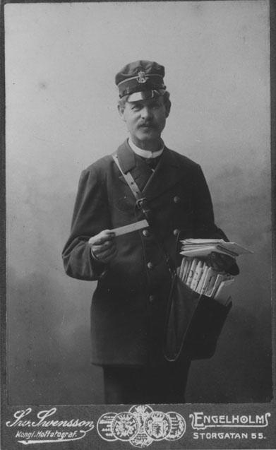 A P Bengtsson, Ängelholms förste brevbärare.