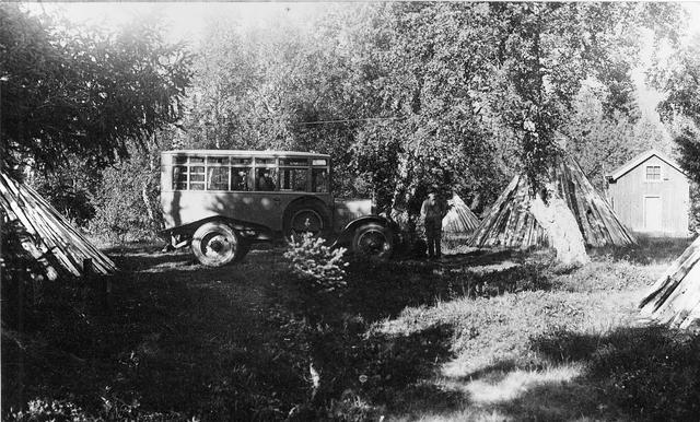 Vid Ankarede. Början av 1920-talet.