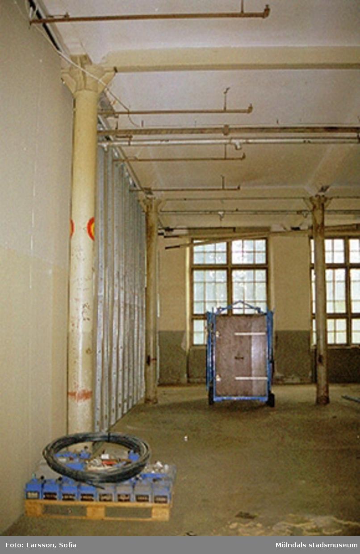 Werners fabriker, interiör 2001-10-23.