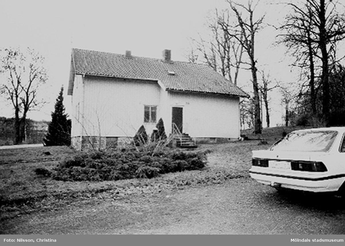 Bostadshus vid Werners fabriker, Annestorp, Lindome hösten 1994.