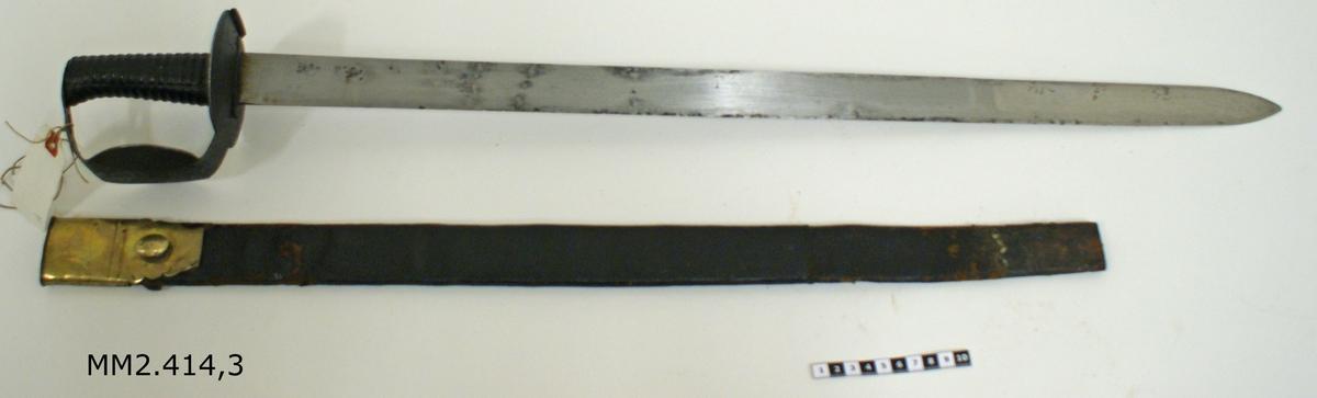 Huggare m/1832 med balja (engelsk modell)