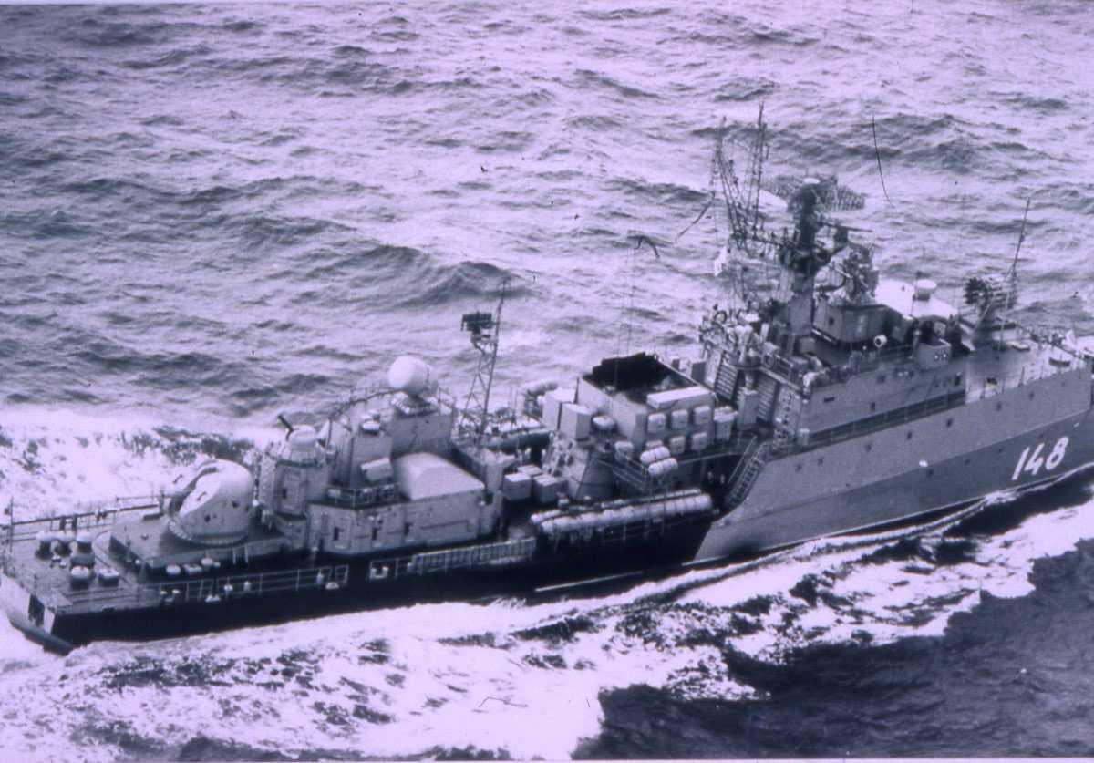 Russisk fartøy av Grisha V - klassen med nr. 148.