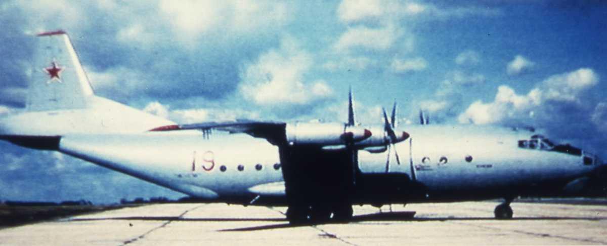 Russisk fly av typen Cub C med nr. 19.