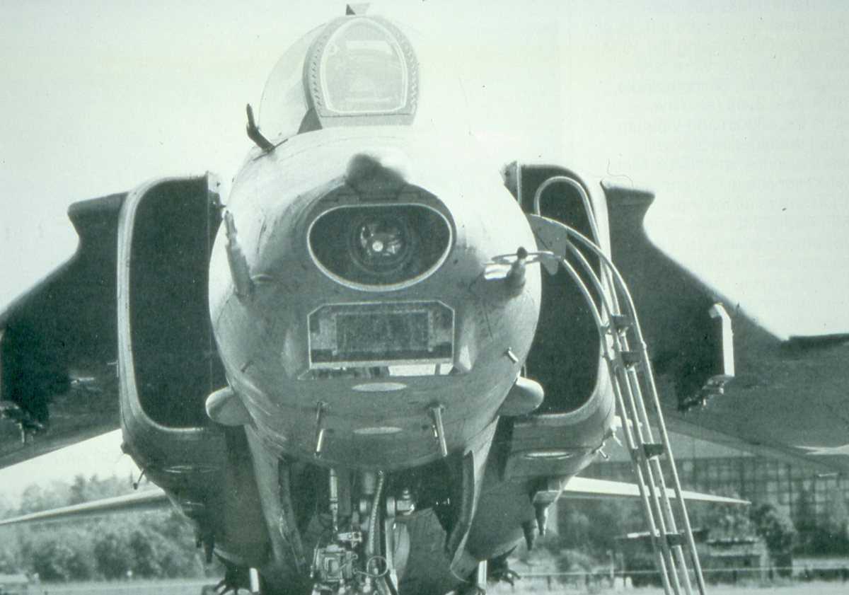 Russisk fly av typen Mig-27 Flogger J.