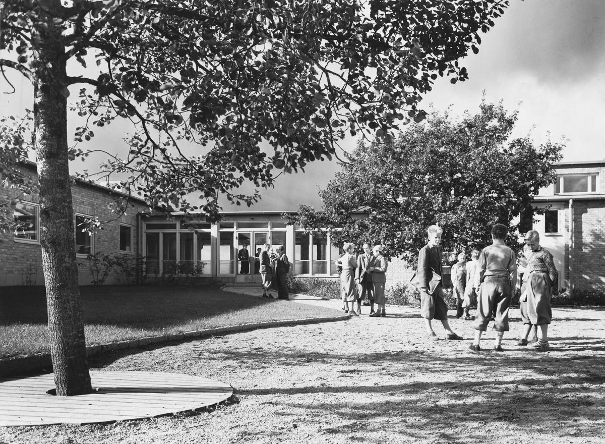 Ulriksbergsskolan Exteriör förbindelsegången
