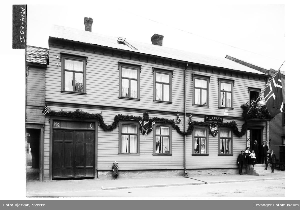M. Larsens gård i Levanger By