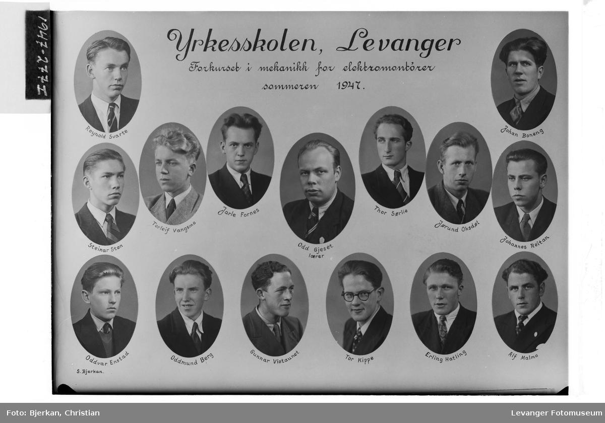 Yrkesskolen, Levanger sommeren 1947