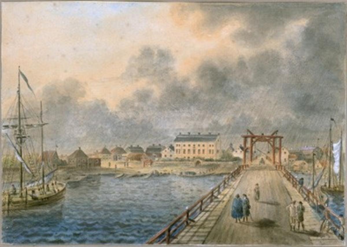 Vänersborg från Dalbobron