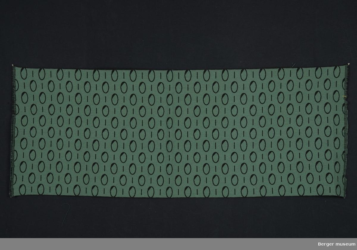Ovaler og striper, metervare, møbelstoff