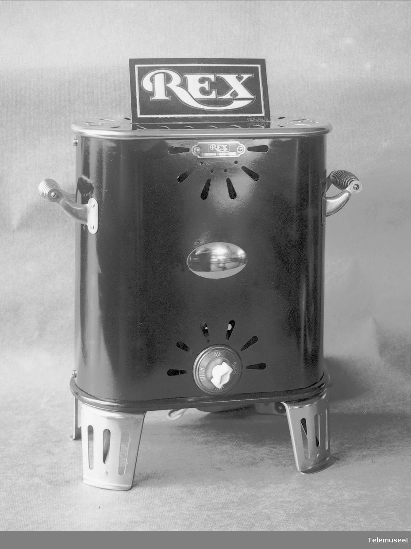 Rex varmeovn 1924, Elektrisk Bureau.