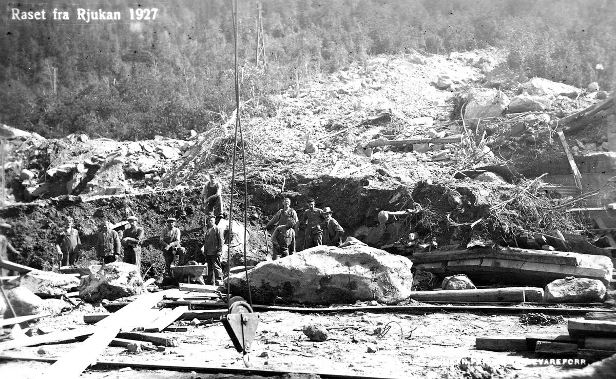 Raset fra Rjukan 1927.