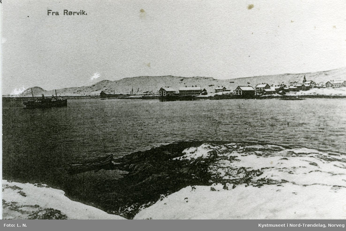 Rørvik, Vinterbilde