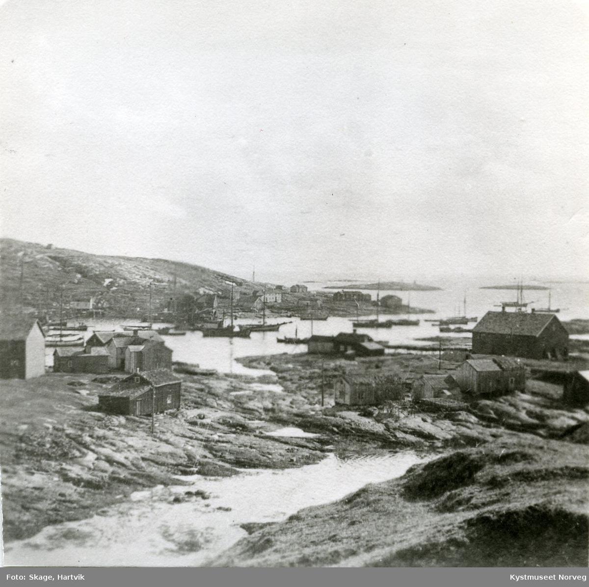 """Sør-Gjæslingan, på """"Nakken"""" mot Heimværet"""