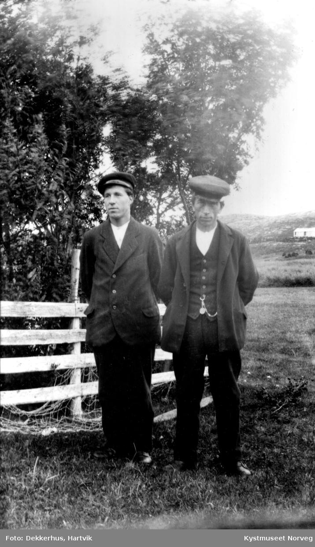 Hartvik Dekkerhus og Alfred Brueng Evenstad
