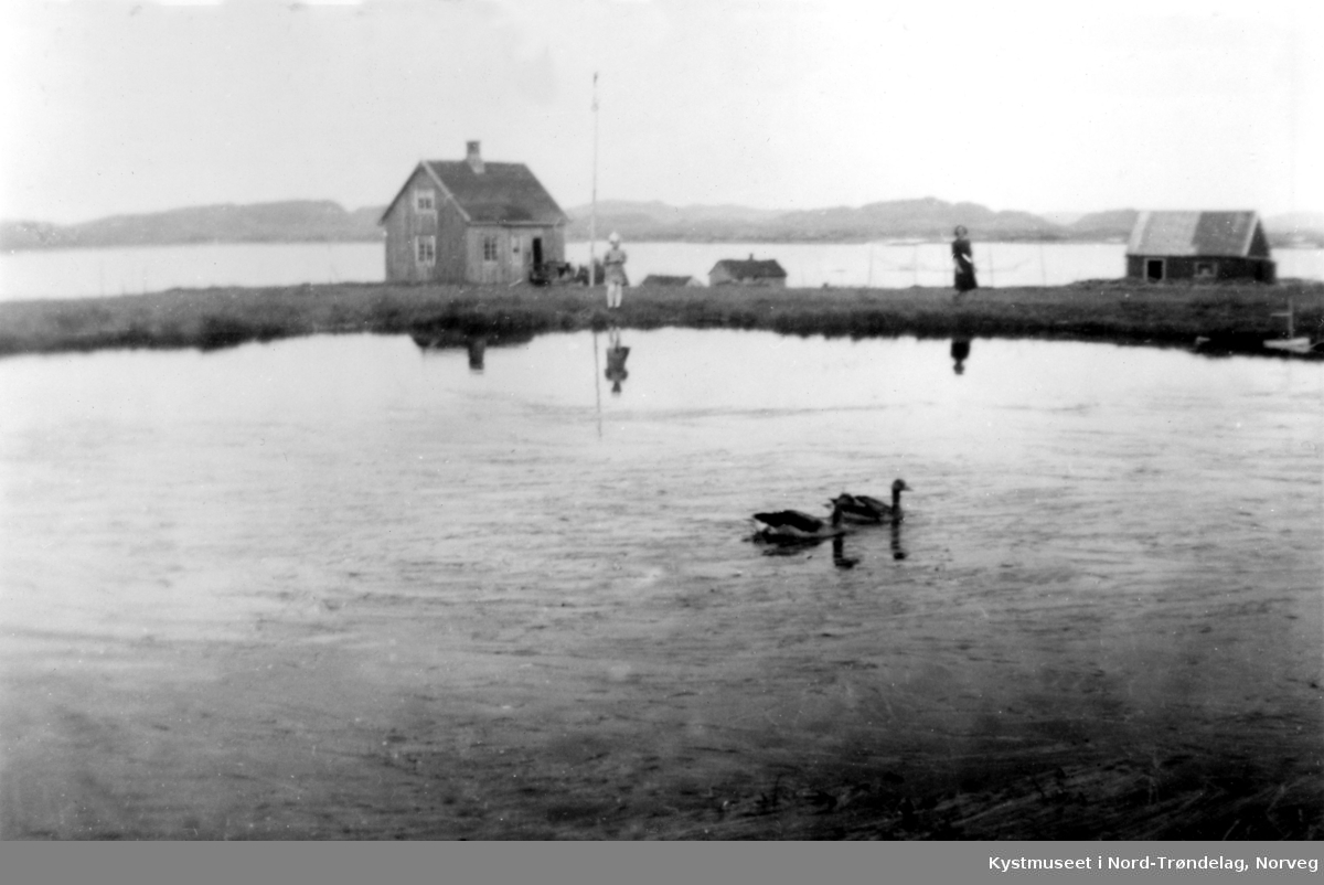 Kristian Kvaløs bureisingsbruk på Rauøya i Vikna