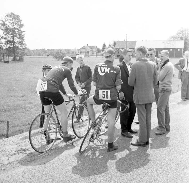 """Dalslandsrundan Cykel maj 1960"""