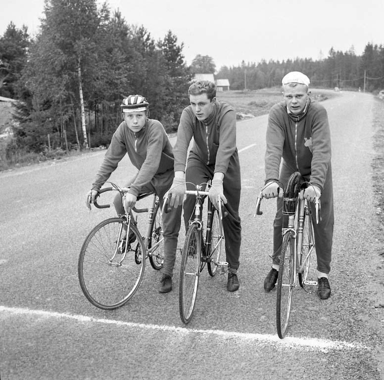 Cykelstafett i september 1960