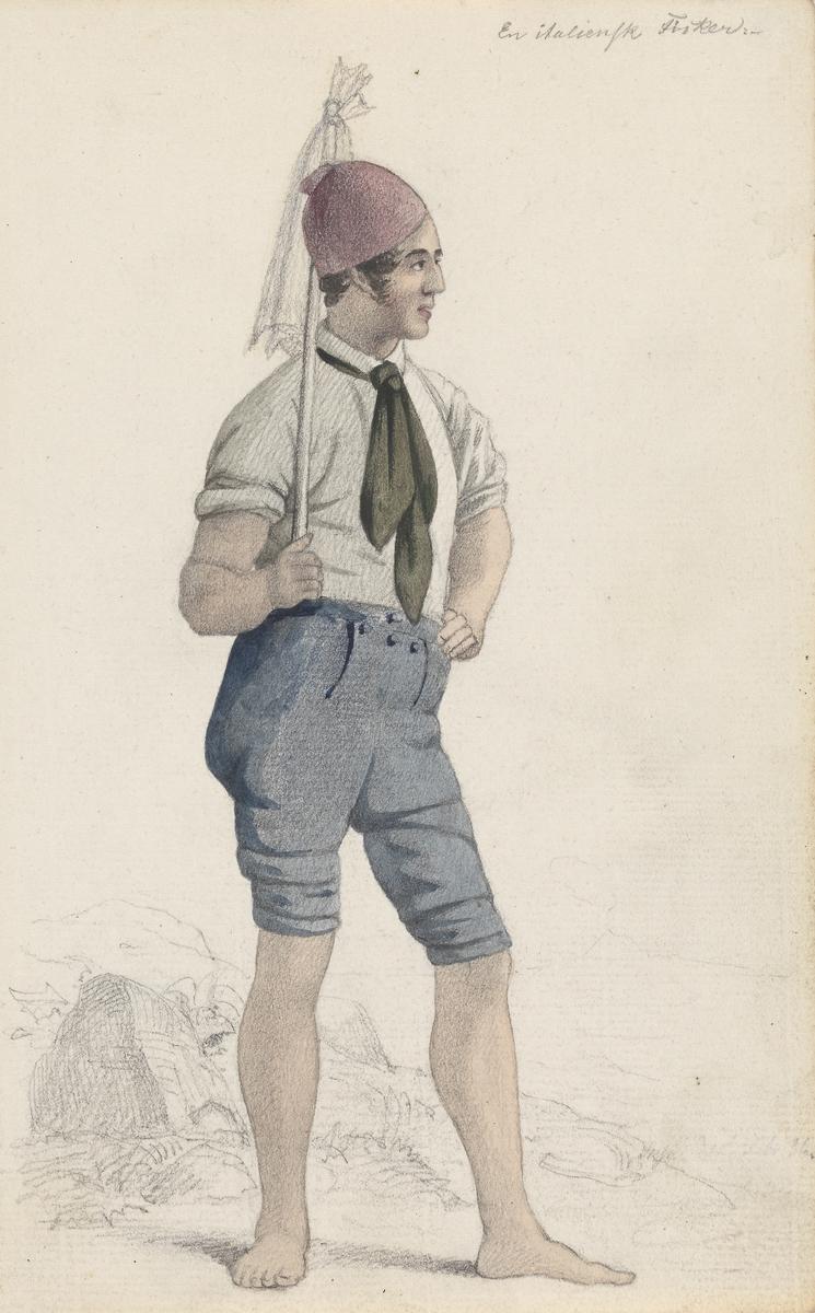 Italiensk fisker [Tegning]