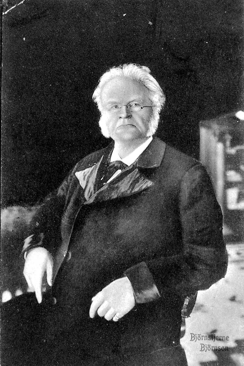 Portrett, Bjørnstjerne Bjørnson, postkort,