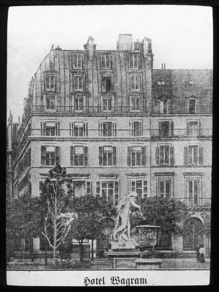 Hotell Wagram, Paris,