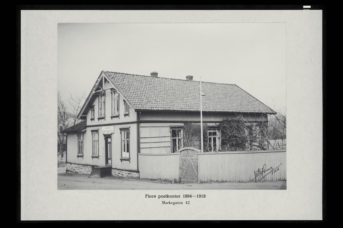 eksteriør, postkontor, 6900 Florø